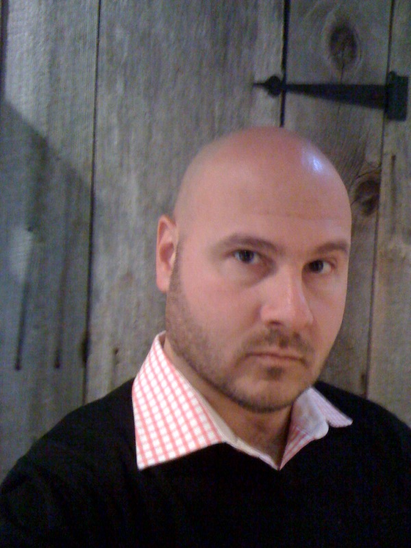 Hot bald dilf