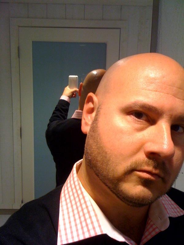 Hot bald dilf 3