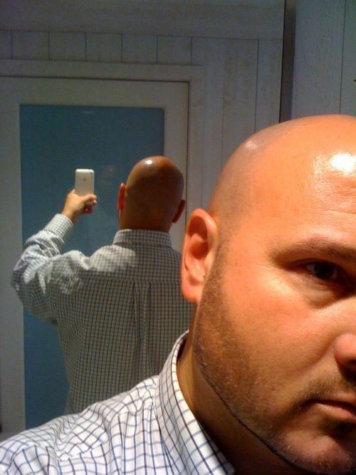 Hot bald dilf 2